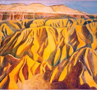 Zabriski Point Death Valley, 1970