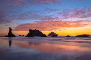 Face Rock Sunset, Bandon, Oregon