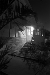 Wessel, Henry, Night Walk, LA#25, 1996, Courtesy of Rena Bransten Gallery, San Francisco, Gelatin silver print, 25 x 31""
