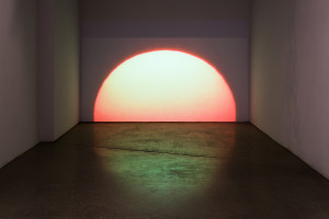 Brooks Dierdorff, Sunset, 2014, video, dimensions variable
