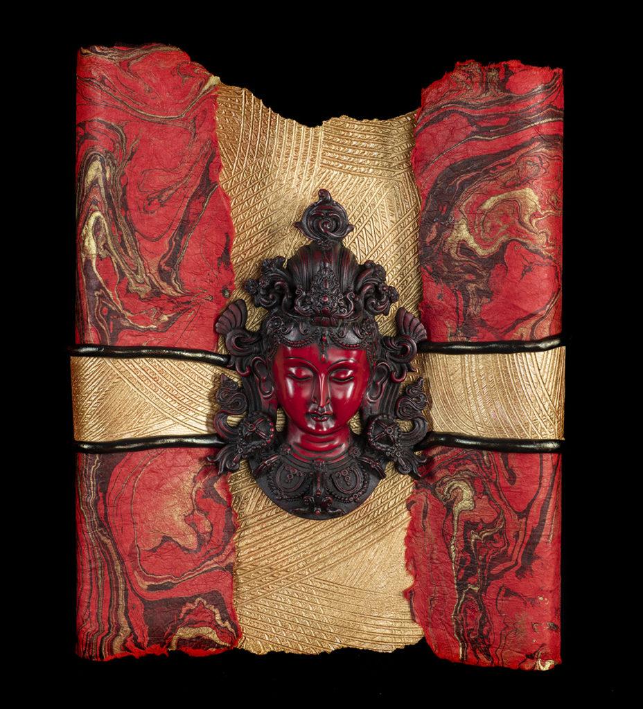 Red Scroll Tara
