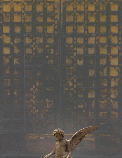 The Wait, digital print by Bruce Bayard
